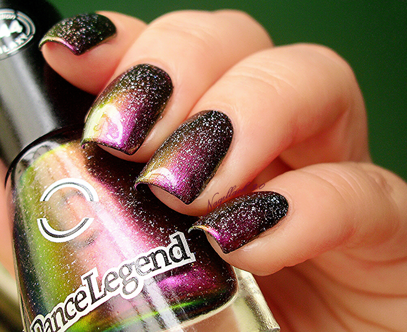 Dance Legend Comet Tail and P2 Belgium Swatch by Arlett