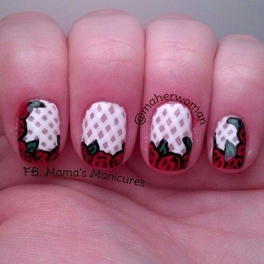 Wedding Nails nail art by Mama's Manicures (maherwoman)