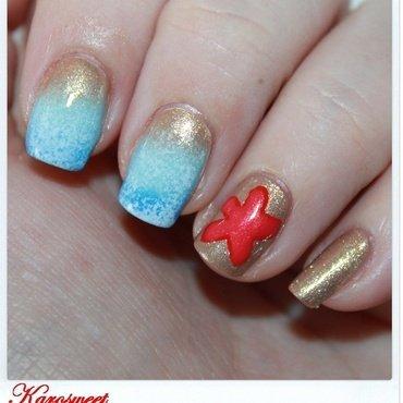 Summer is here ! nail art by Karosweet