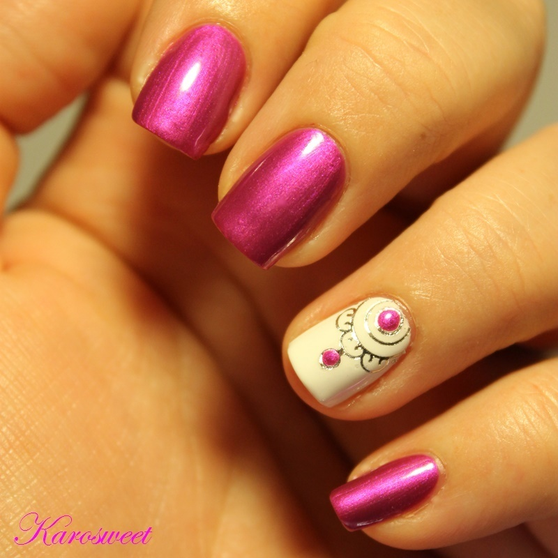 I lov Marc Jacobs nail art by Karosweet