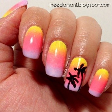 Sunset 20and 20palm 20trees 20nails 20inspired 20by 20sonailcious thumb370f