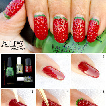 Strawberry nails thumb370f