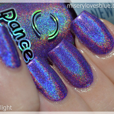 Dance Legend Cosmic Rainbow Swatch by MiseryLovesBlue