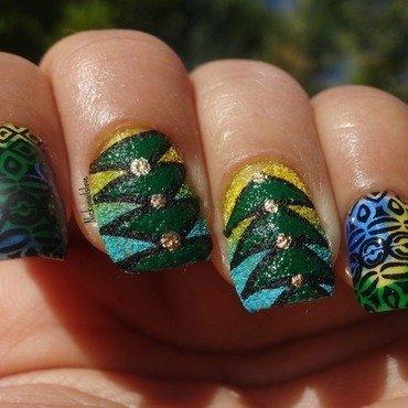 NOTD nail art by Nicky