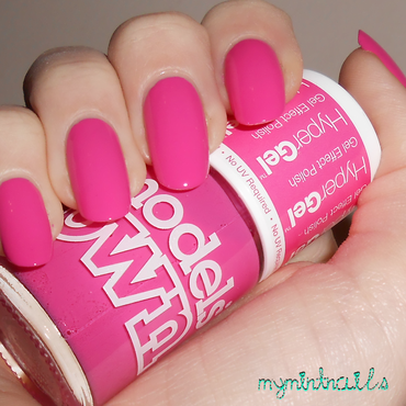 Models Own Cerise Shine Swatch by MyMintNails