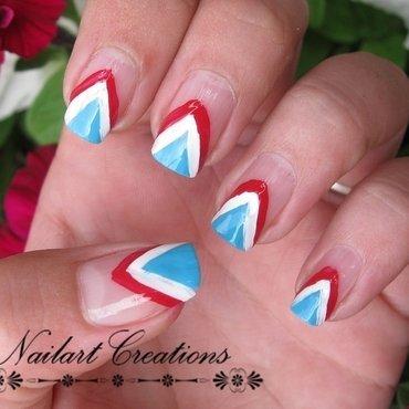 World Cup Dutch Nailart nail art by Nailart Creations