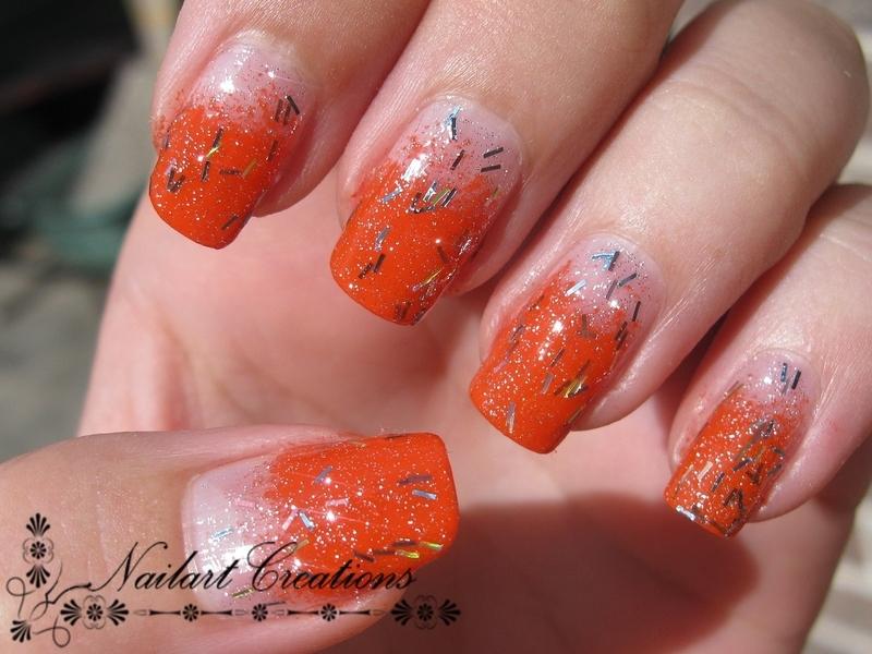 Dutch Glitters  nail art by Nailart Creations