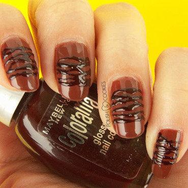 Pralines nail art by PolishCookie