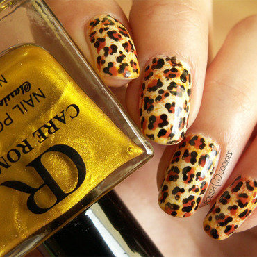 Wild Thing nail art by PolishCookie