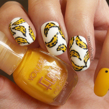 Peel Slowly and See nail art by PolishCookie