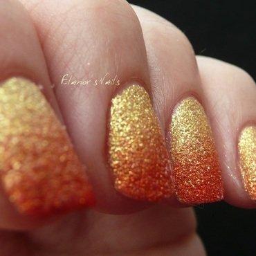 Summer Gradient nail art by Ginger_Elanor