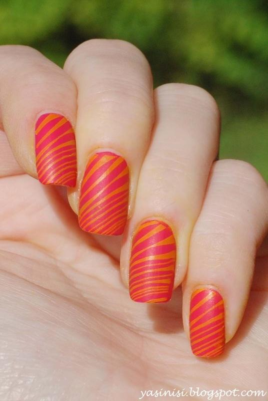 W205 nail art by Yasinisi