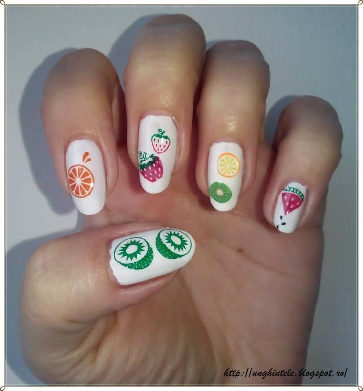 watermelon nail art by Oana  Alexandru