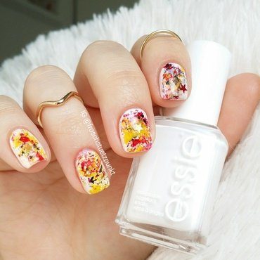 World Cup: Germany nail art by froschstuetzpunkt