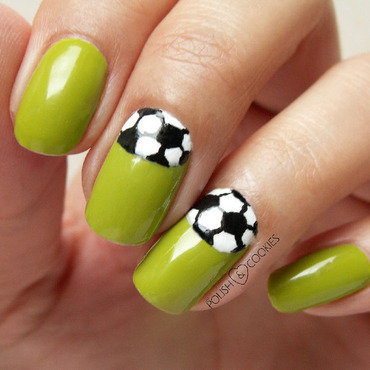 World Cup nail art by PolishCookie