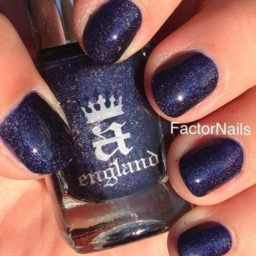 A England Tristam Swatch by Factornails
