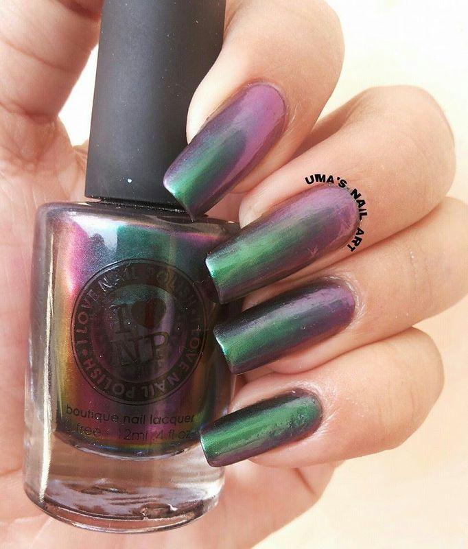 I Love Nail Polish Sirene Swatch by Uma mathur