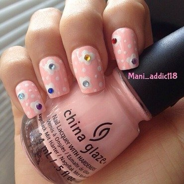 Babydoll  nail art by S.M.R