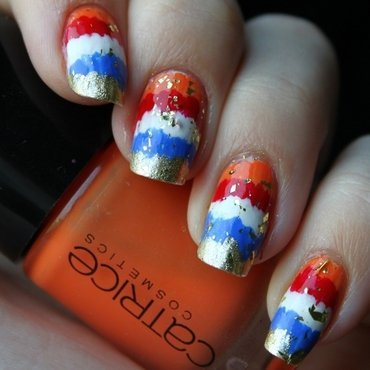 We'll Be King nail art by Lin van T