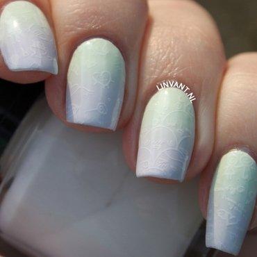 Moyou Monsters nail art by Lin van T