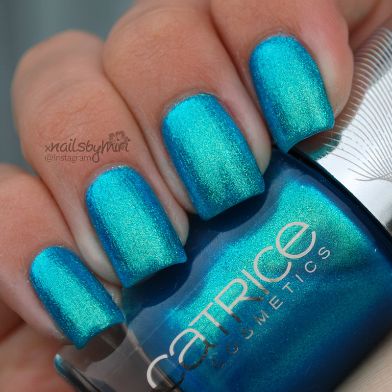 Catrice Never Green Before Swatch by xNailsByMiri