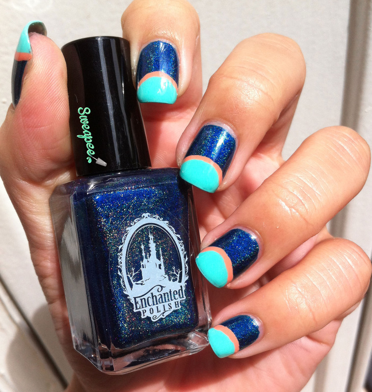 Bigout nail art by Sweapee