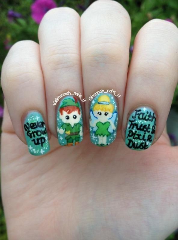 Neverland Nails nail art by Hannah