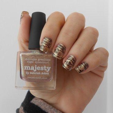 stamper nail art by Ilana Coelho