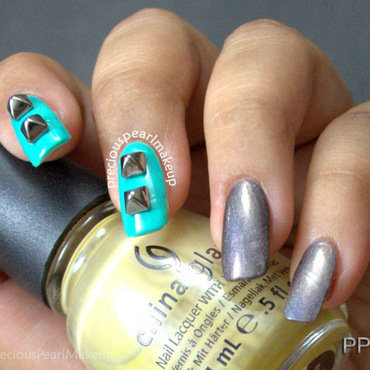 3D Nails nail art by Pearl P.