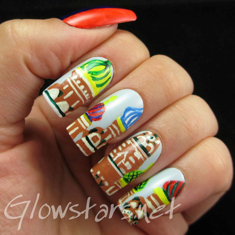 The Digit-Al Dozen Does Countries And Cultures: Russia nail art by Vic 'Glowstars' Pires