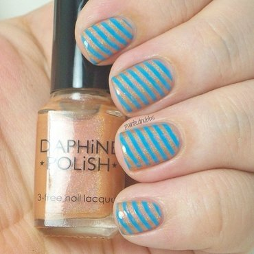 Daphine polish peach cobbler stamped with bps plate aq91 thumb370f