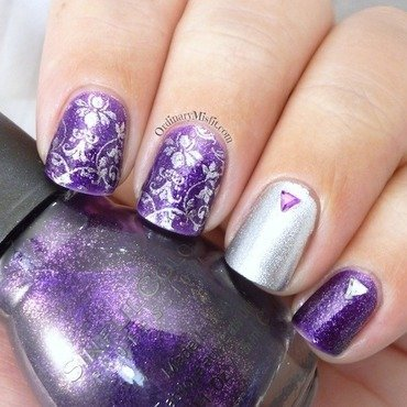 Purple 20glitter 20and 20silver 20nail 20art thumb370f