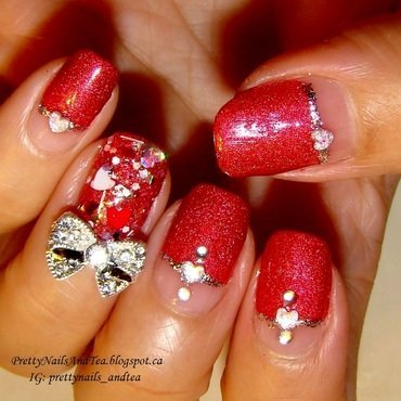 Super Nova nail art by PrettyNailsAndTea