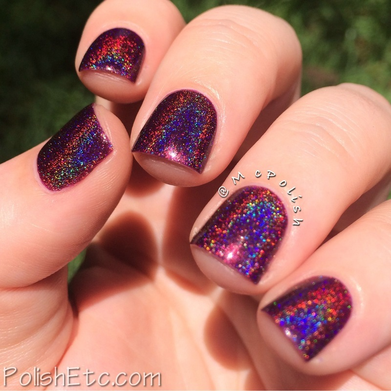 Lilypad Lacquer True Blood Swatch by Amy McG