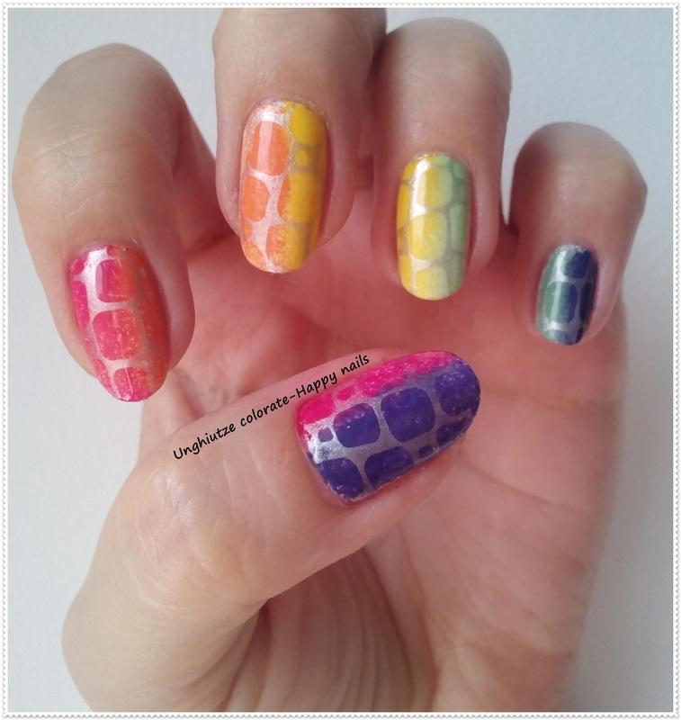 Summer Nails nail art by Oana  Alexandru
