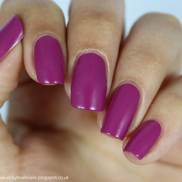 Barry M Rhossili Swatch by Vicky Standage