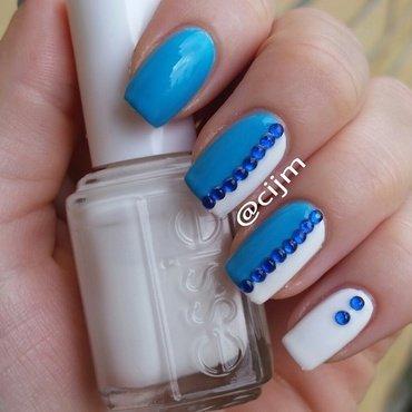 Half n half nail art by cijm