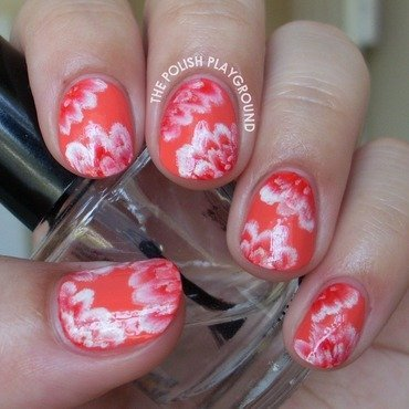 Red 20and 20white 20one stroke 20flowers 20nail 20art thumb370f