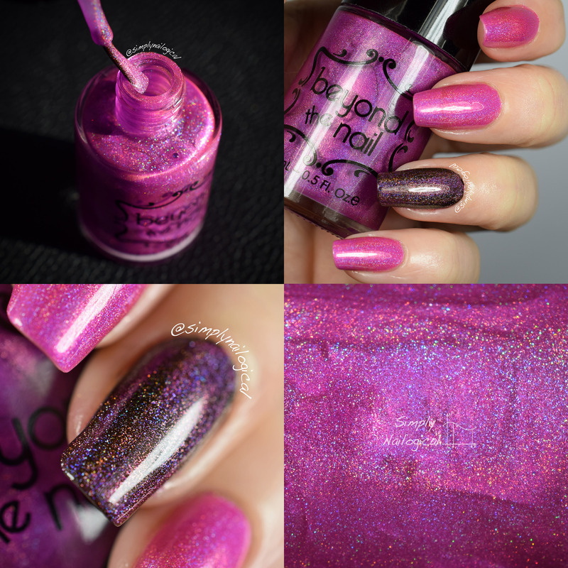 Beyond The Nail Nebula Swatch by simplynailogical
