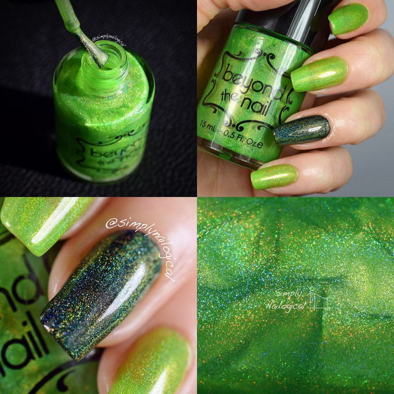 Beyond The Nail Comet Swatch by simplynailogical