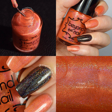 Beyond The Nail Solar Flare Swatch by simplynailogical