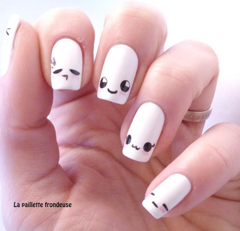 kawaii nails mood nail art by nathalie lapaillettefrondeuse - Kawaii Nails Mood Nail Art By Nathalie Lapaillettefrondeuse