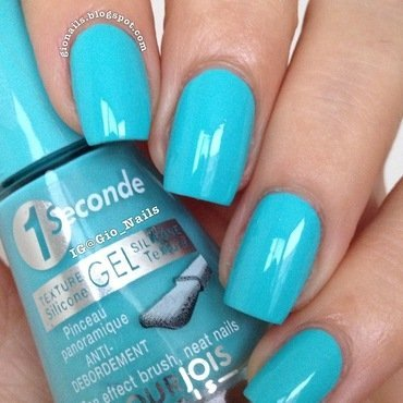 Bourjois Blue no blues Swatch by Giovanna - GioNails