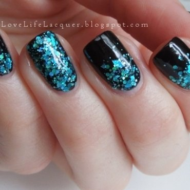 Grosky lil' beotch by Ooh La Lacquer nail art by Love Life Lacquer