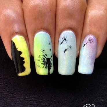 Carefree nail art by Dess_sure
