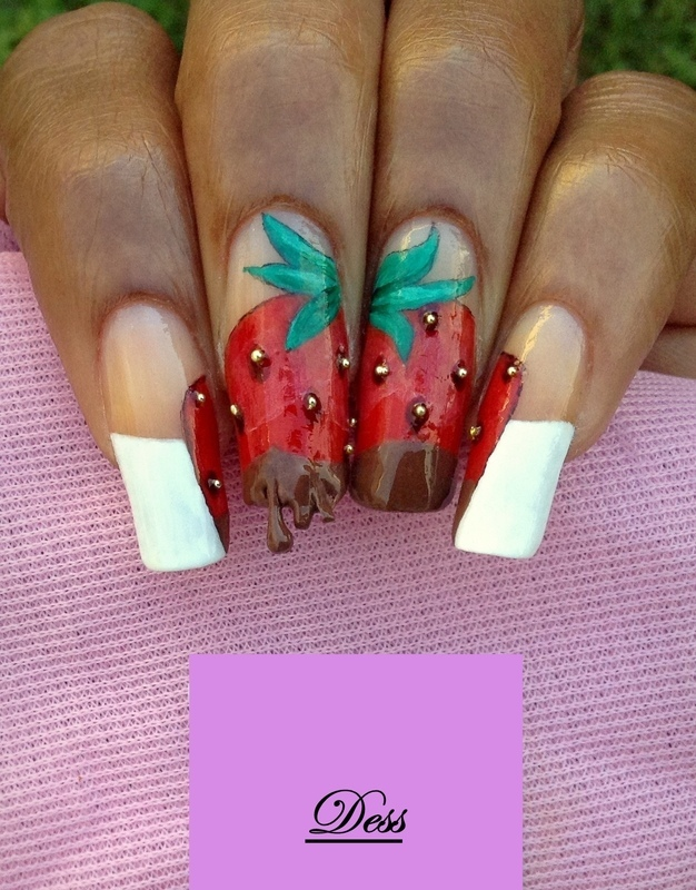 Fruitylicious  nail art by Dess_sure