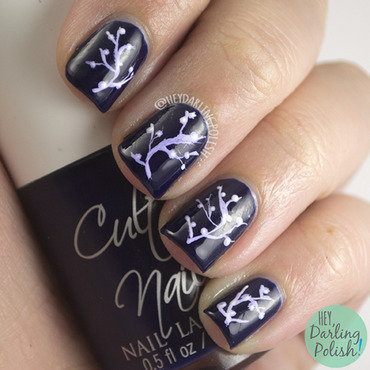 Traveler Branches nail art by Marisa  Cavanaugh