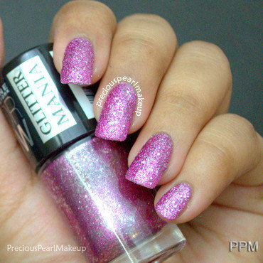 Maybelline Glitter Mania Matinee Mauve Swatch by Pearl P.