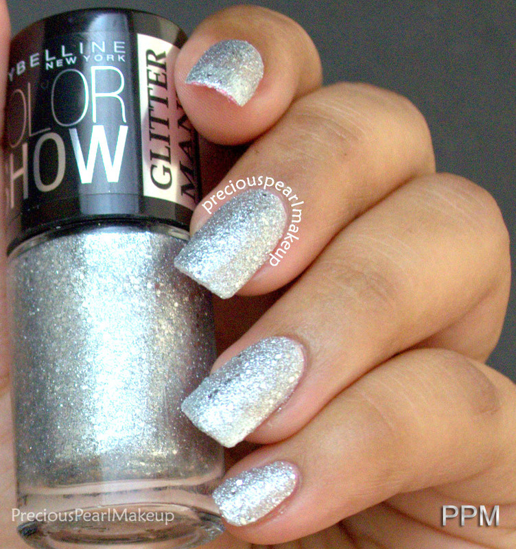 Maybelline Glitter Mania Dazzling Diva Swatch by Pearl P.