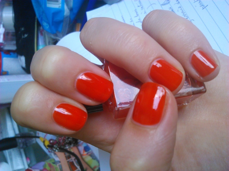 YSL orange fusion Swatch by manon des ours